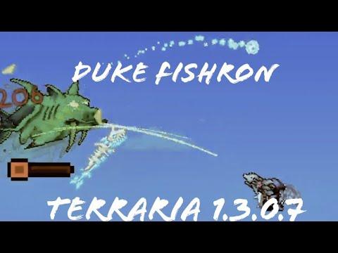 Duke Fishron [Terraria 1.3.0.7 Mobile]
