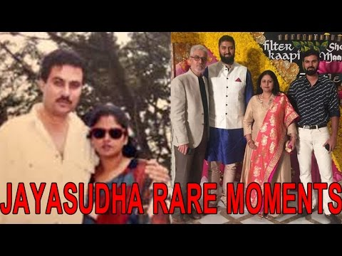 Thumbnail: Jayasudha and Nitin Rare Moments With Their Sons