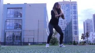 Тренировка на улице для девушек.