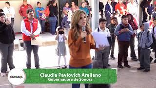 Hoy en el municipio de Etchojoa la Gober entrega Escuela Primaria y Viviendas ✅