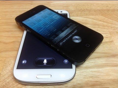 Siri vs S Voice ¿Cuál es mejor?