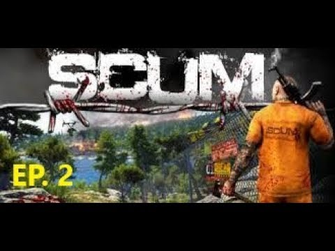 Scum | EP.2 | Checking out a waterside village | Let´s Play