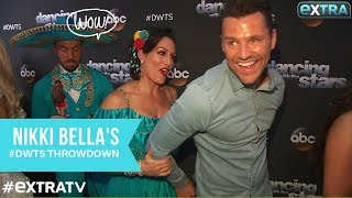 Nikki Bella Puts Mark Wright in a Headlock at 'Dancing with the Stars'