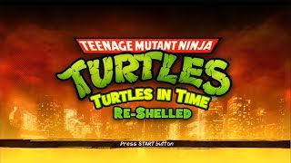 Teenage Mutant Ninja Turtles: Turtles in Time Re-Shelled (PlayStation 3)【Longplay】