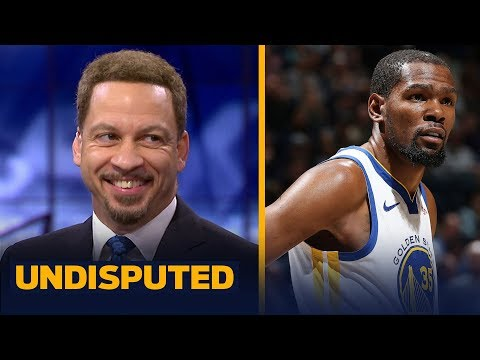 Chris Broussard likes Draymond's statement on KD potentially leaving the Warriors | NBA | UNDISPUTED thumbnail