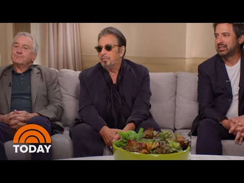 Watch Robert DeNiro, Al Pacino And Ray Romanos Extended Interview With Harry Smith | TODAY
