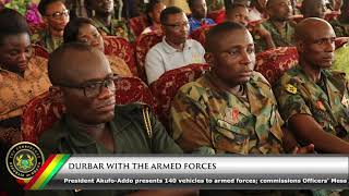 Durbar with the Ghana Armed Forces