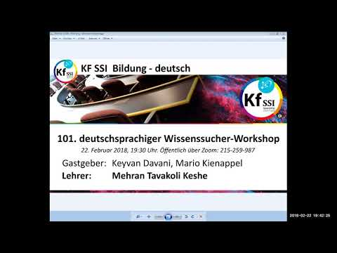 2018 02 22 PM Public Teachings in German - Öffentliche Schulungen in Deutsch