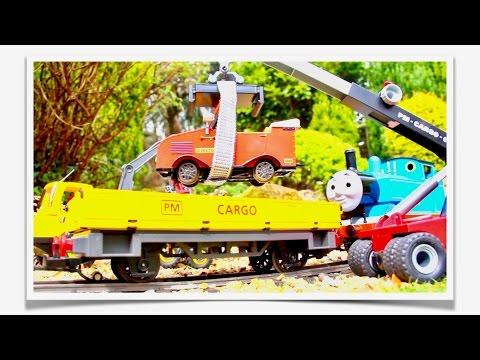 Thomas Rescues Winston! – Bachmann Large Scale Winston
