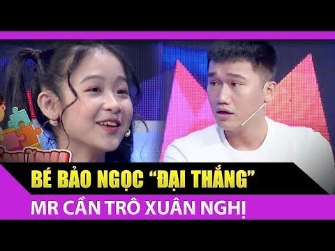 Bé Bảo Ngọc đại thắng Mr Cần Trô Xuân Nghị khiến Lâm Vỹ Dạ hãnh diện
