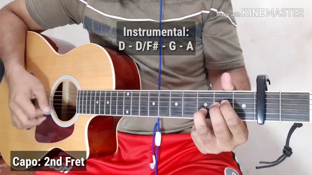 Easy Guitar Chords Kung Di Rin Lang Ikaw