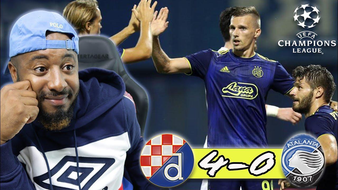 Dinamo Zagreb 4 0 Atalanta Mislav Orsic Scores Hat Trick 2019 20 Champions League Youtube