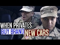 When Privates Buy Brand New Cars!