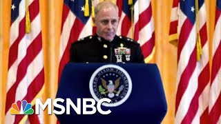Ret. Marine Corps Major General: Syrian Response To Strikes Will Determine Future US Actions   MSBC