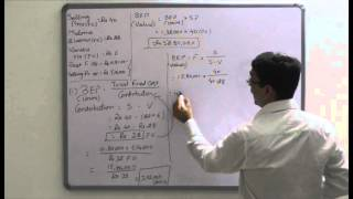 Absorption costing and marginal costing- practical 1