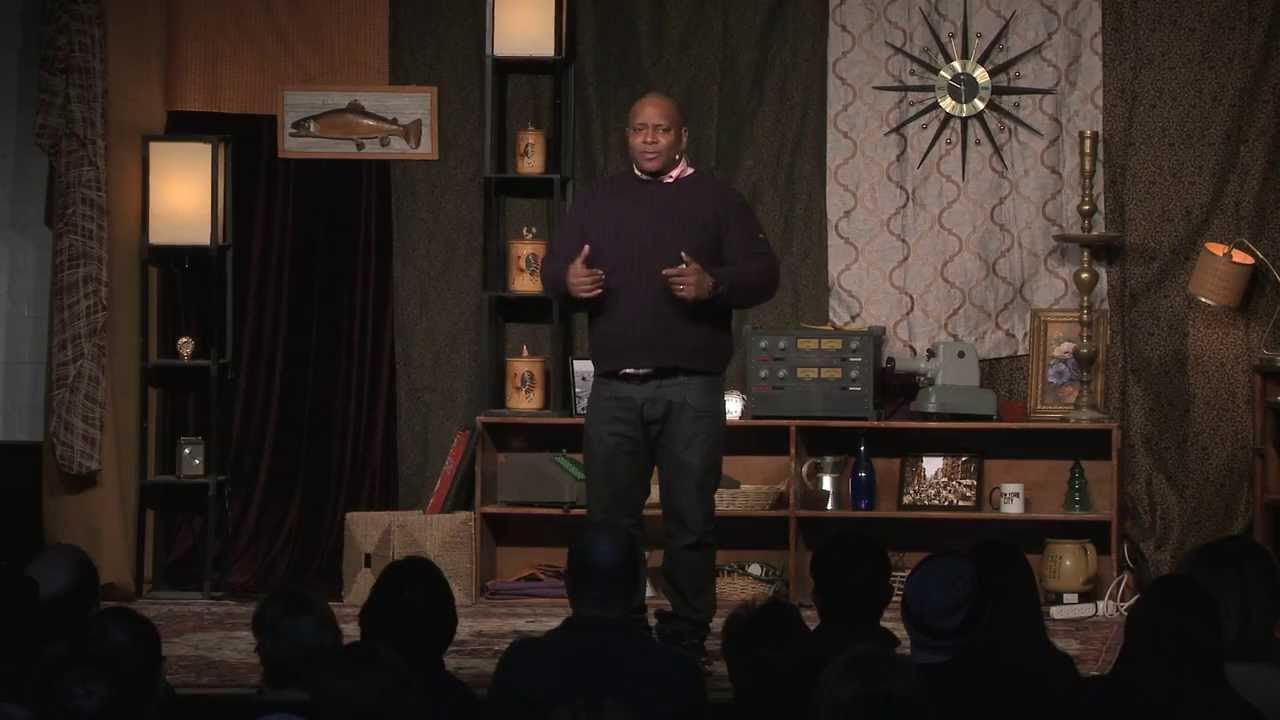 Living inside and outside of the hip hop revolution: Reggie Ossé (aka Combat Jack) at TEDxGowanus