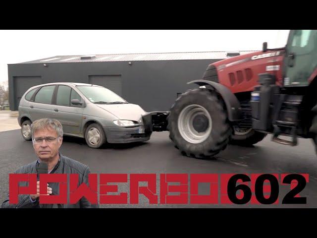 Comment éviter l'encastrement d'une voiture sous le tracteur ?