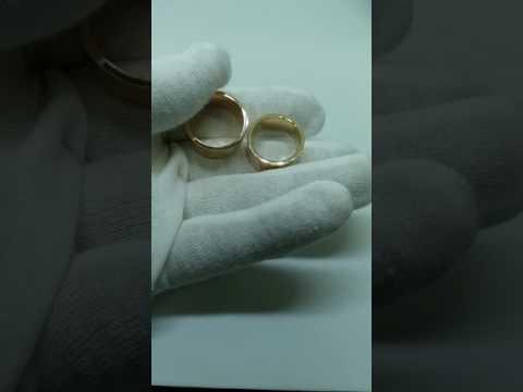 Обручальные кольца из серебра Фото и цены на серебряные