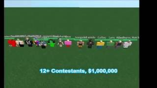 ROBLOX Character Elimination Season 1 Intro