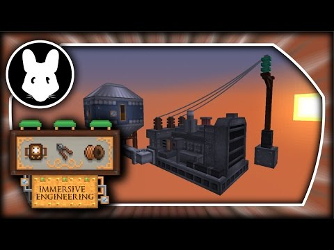 Immersive Engineering: Diesel Generator & Ear Defenders! - Minecraft 1.10.2/1.11.2