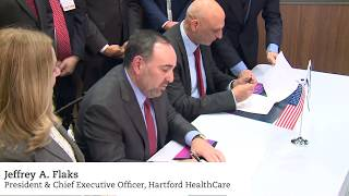 Hartford HealthCare announces new partnership with Israel Innovation Authority