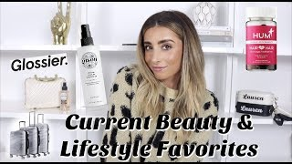 MY CURRENT BEAUTY & LIFESTYLE FAVORITES! Product Reviews / Haul!   Lauren Elizabeth