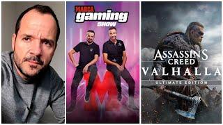 Ángel Martín invitado en MARCA Gaming Show, además nuestro concurso Assassin´s Creed Valhalla