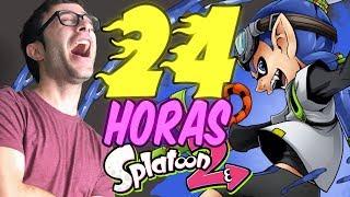 DIRECTO 24 HORAS (PARTE 7/10)   SPLATOON 2 + CENA   ESPAÑOL