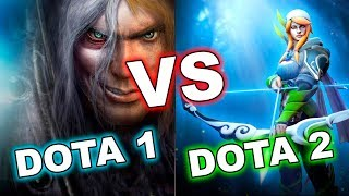 Dota 2 VS Dota 1 AFTER 10 YEARS!