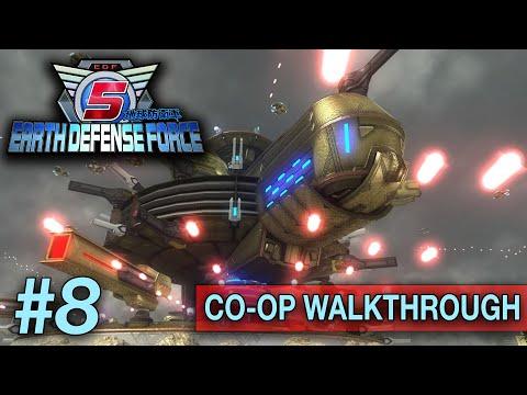 Earth Defense Force 5 [CO/OP] (PS4 WALKTHROUGH/GAMEPLAY) - Part 8 (Stream Crash) thumbnail