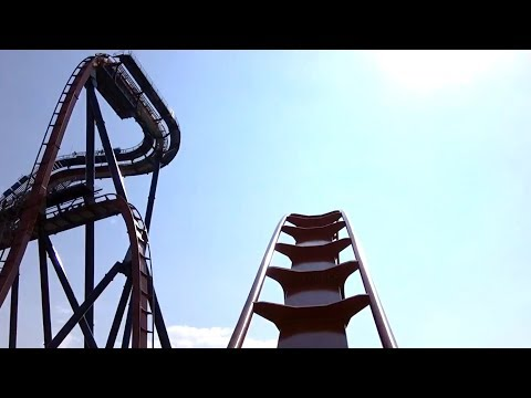 Valravn Dive Coaster (Front Seat HD POV) - Cedar Point