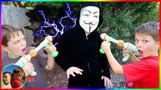 Game Master Try's to Upload Virus! YouTube Safe Now? / Steel Kids