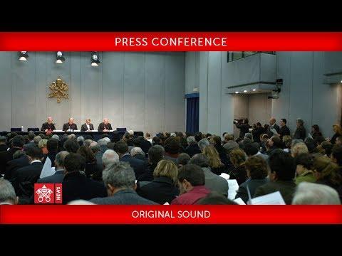 Press Conference for the Canonization of Paul VI and Óscar Arnulfo Romero 2018-10-11