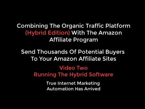 OTP Combining Organic Traffic Platform With Amazon Affiliate Video 2