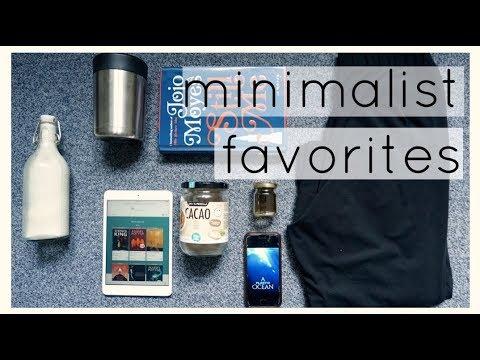 Minimalist current favorites - Minimalism, zero waste & frugal living