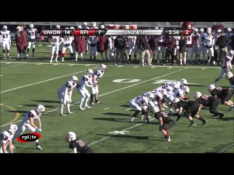 RPI Football vs. Union Highlights  Dutchman's Shoes Game