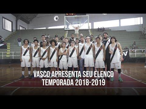 Vasco apresenta seu elenco 2018-2019