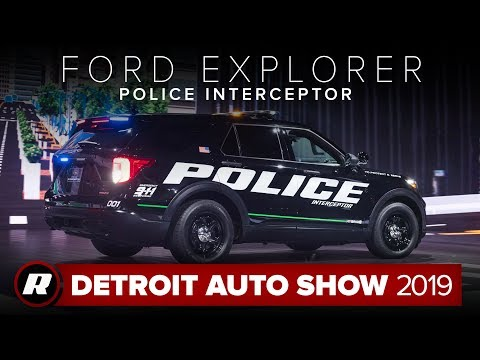 2020 Ford Police Interceptor Utility: A more efficient, more connected cop car | Detroit 2019
