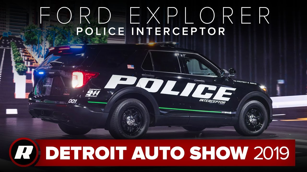 ford police interceptor utility   efficient  connected  car detroit