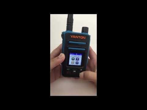 T-X8 LTE/3G/2G Sim Card IP Radio GPS SOS Function 4000MAH battery