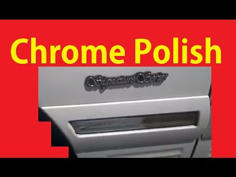 Polishing Chrome Trim ~ DIY Polish Shining Clean Aluminum Mag & Metal