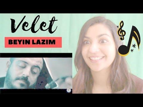 Velet - Beyin Lazım -- Reaction Video! / TURKISH RAP REACTION