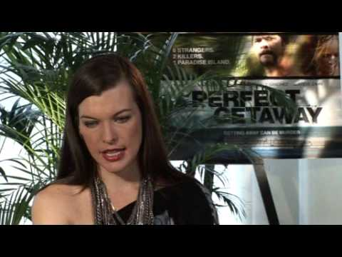 Milla Jovovich stars in thriller A Perfect Getaway