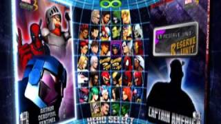 BONUS: Marvel vs. Capcom 3 Full Roster 36 Characters and Gameplay