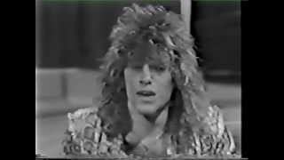 Jon Bon Jovi | TV Interviews 1985