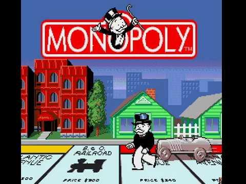 Mega Drive Longplay [493] Monopoly