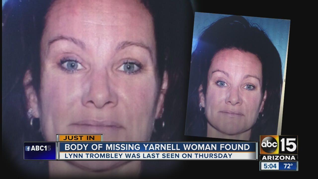 missing woman found dead in yarnell youtube