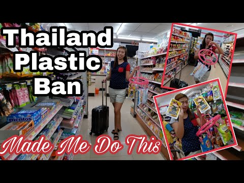 THAILAND PLASTIC BAN MADE ME DO THIS | CHALLENGE ACCEPTED