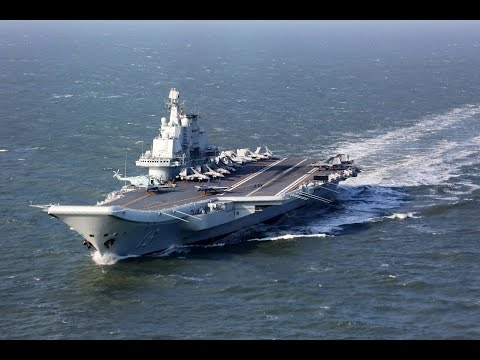 China's Liaoning aircraft carrier carries out exercises in the East China Sea