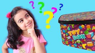 What's in my toy box? Oyuncak kutumda neler var? ماذا يوجد في صندوق لعبتي
